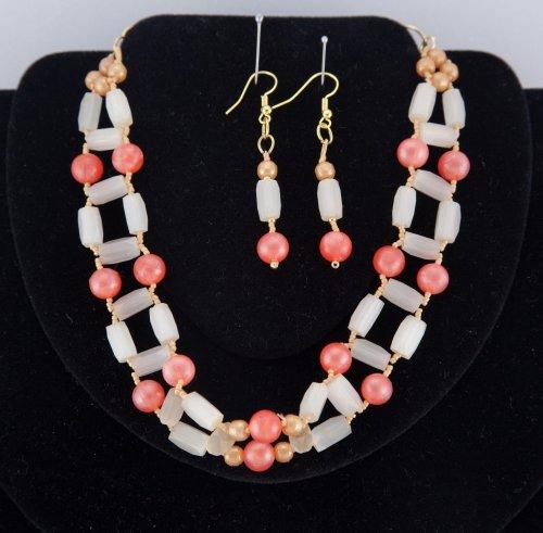 Souprava náhrdelník (obojek) a náušnice