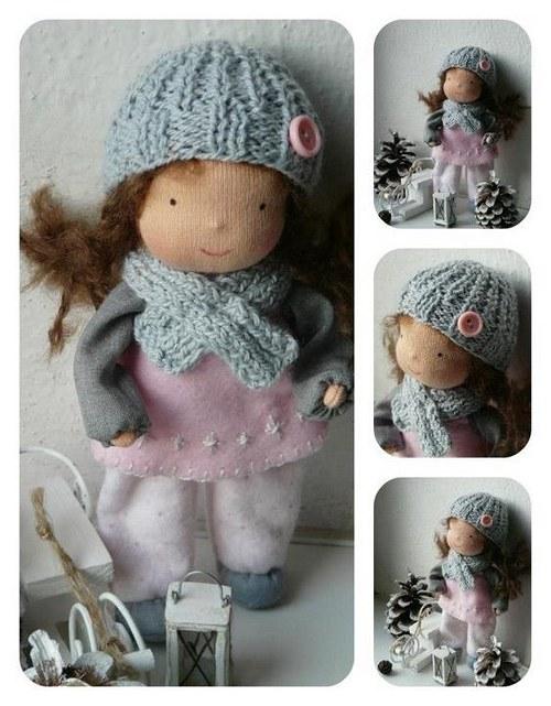 Výroba malé panenky aneb dárek na posledni chvili