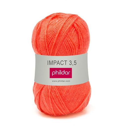Příze Impact 3,5 odstín Orangeade