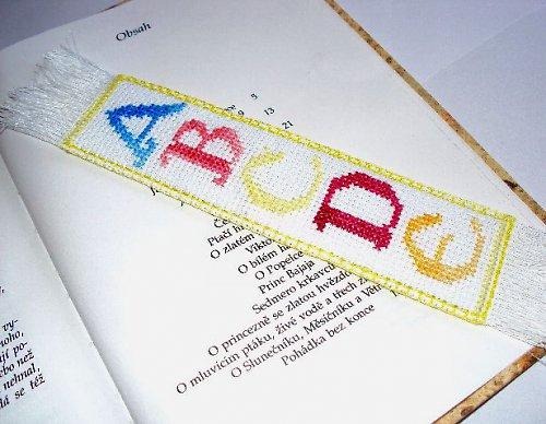 Veselá abeceda - záložka
