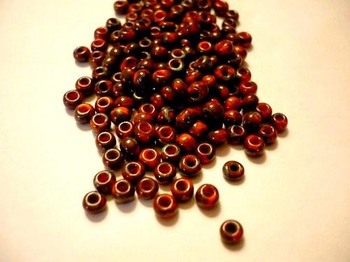 Skleněné korálky 3,5 mm, 20 g