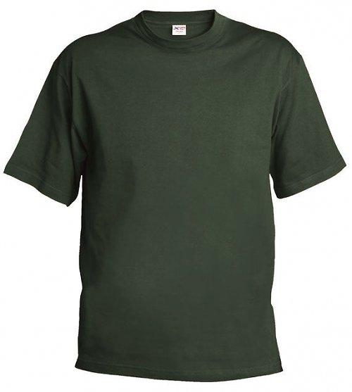 Triko olivové - khaki 155 g, M