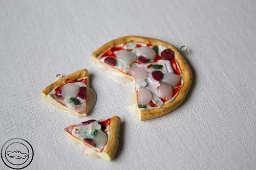 Pizza s extra porcí mozarelly
