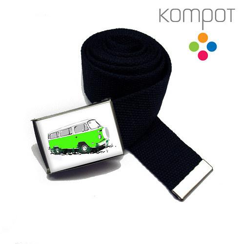 PÁSEK se zeleným minibusem