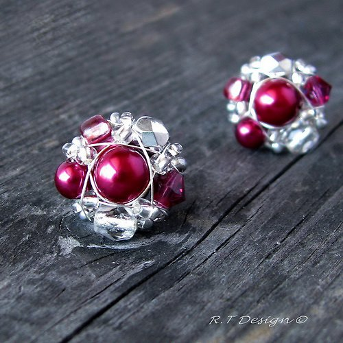 Náušničky Cherry...