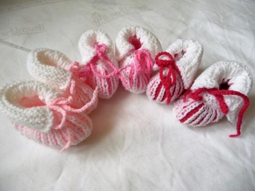Capáčky bílo-růžové