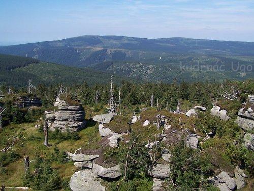 pohled na Jizerky