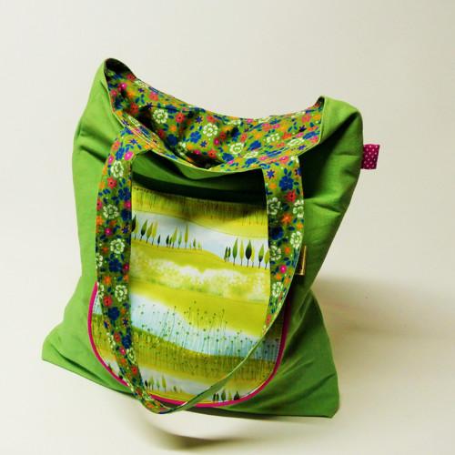 Jarní kabela zelená