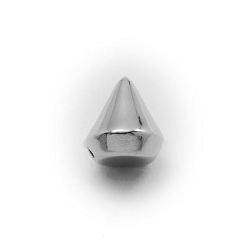 AKO2499, Akryl HROTY 13.5mm NIKEL /5ks
