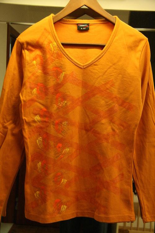 Triko oranžové