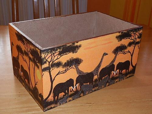 Zásobník na DVD Sloni
