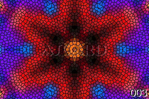 Mandala Dlážděné Mozaiky