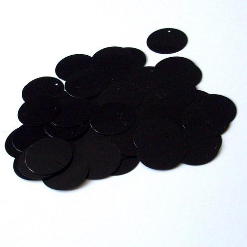 Flitr sypaný - černý
