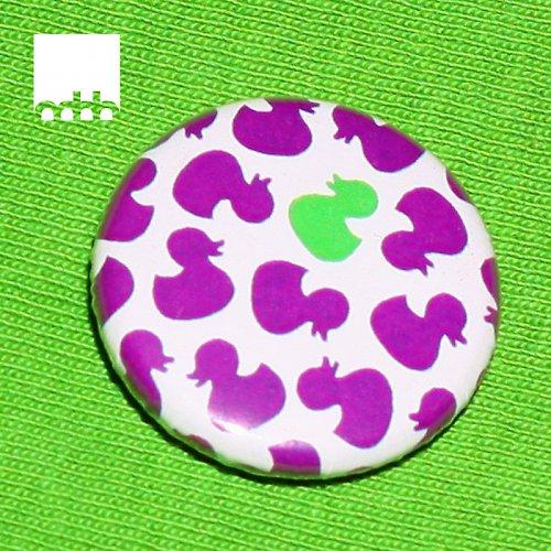Placka s motivem kachniček - fialová