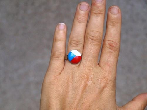 Fandíme našim- prstýnek