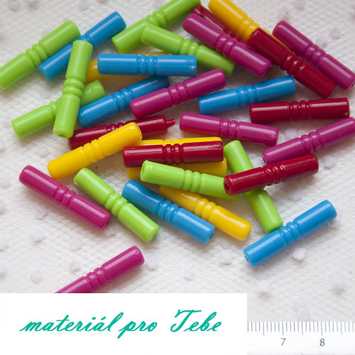 paličky - pestrobarevné - 10 ks