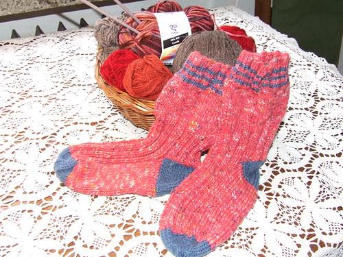 Melírované ponožky č.35-36