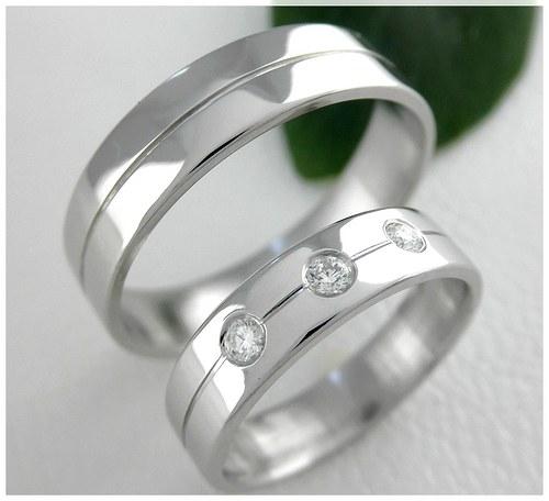 Snubní prsteny S-60