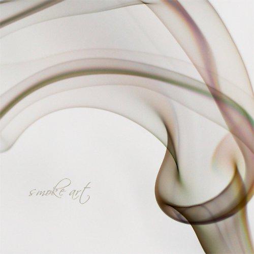 ...smoke art 90x90cm - tisk na malířské plátno...