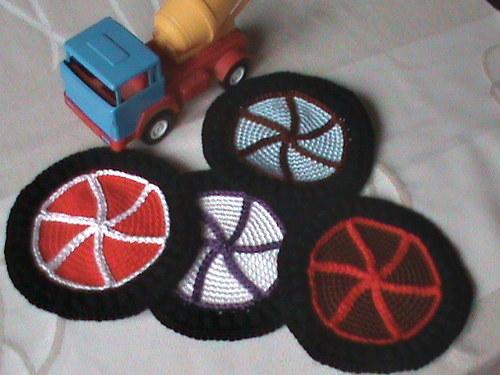 podložky-pneumatiky-4 kusy