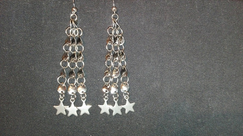 Náušničky Hvězdičky