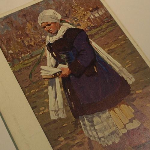 Joža Uprka MYJAVKA - pohlednice č. 1157