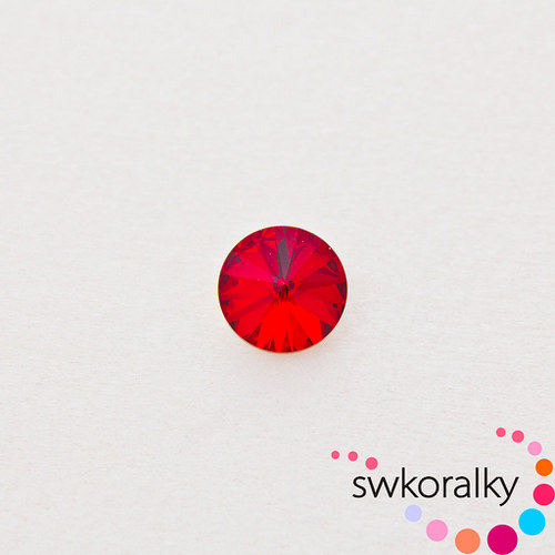 RIVOLI 12 mm SWAROVSKI ® ELEMENTS -siam ruby