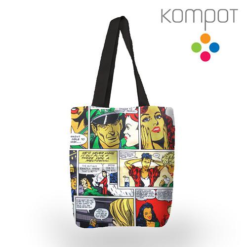 Taška 054 :: Komiks, barevný - zapínání na ZIP