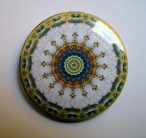 MANDALA 6 - placka - button - 44 mm