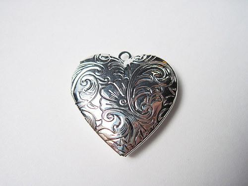 Medailon srdce s vlastní fotografií - 1 foto