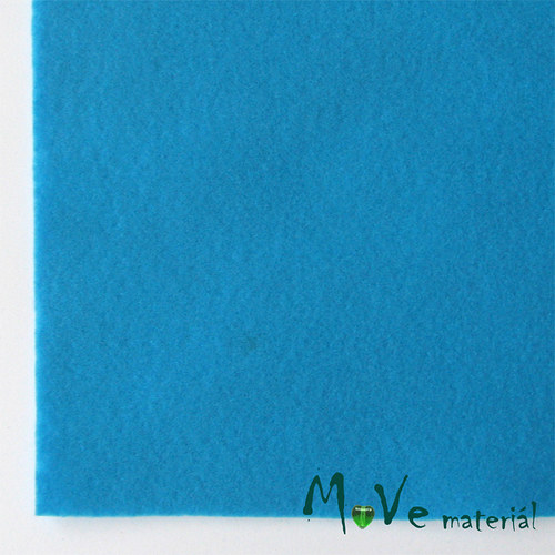 Plsť (filc) 20x30cm, 1ks, tyrkysová