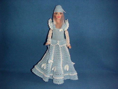 Šatky na panenku Barbie