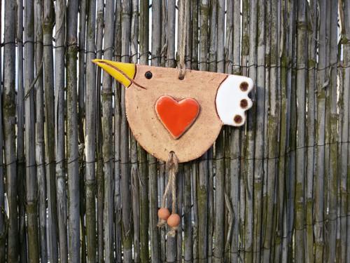 Ptáček- velké srdce