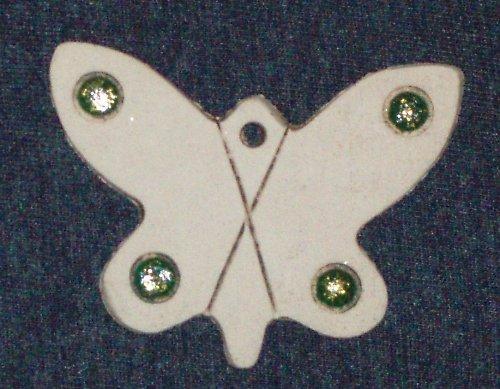 keramický motýlek