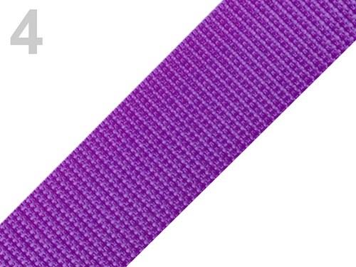 Popruh POP 2,5 cm - fialová tmavá