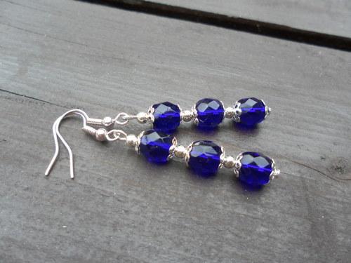 Modro-fialkové kuličky