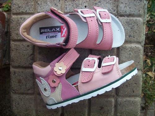 dětské botky růžovky vel. 31-35