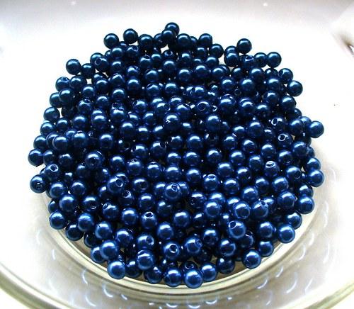 kráľovská modrá 4mm/ 100ks