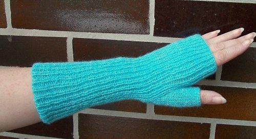 Pletené návleky na ruce -  Agáta