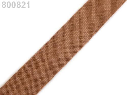 Šikmý proužek 14 mm zažehlený (5m) - Adobe