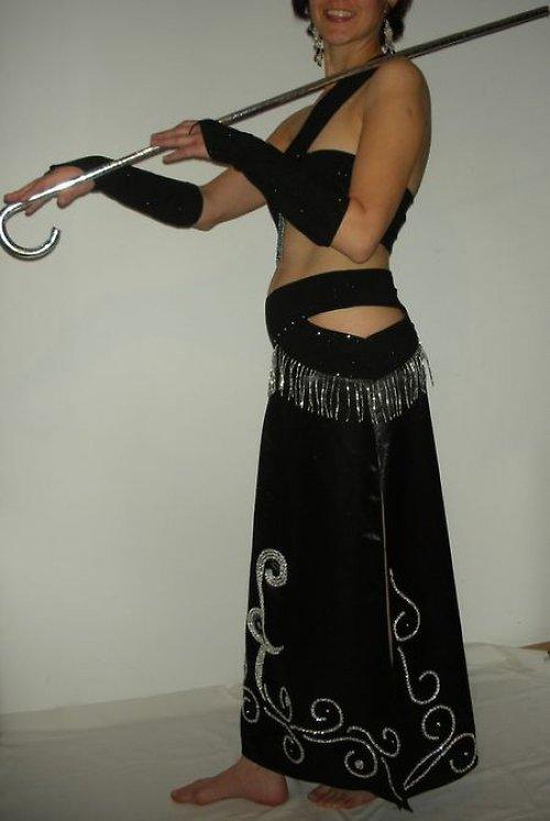 Orientální kostým na břišní tanec