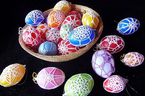 Velikonoční vajíčka - předjaří je tu