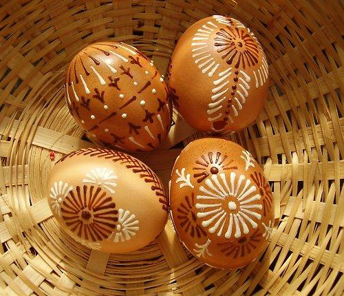 """Velikonoční kraslice - \""""přírodní\"""""""