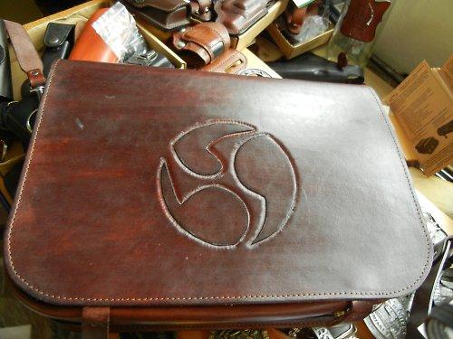 Kožená taška na notebook