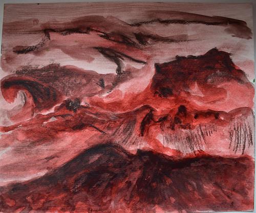 ATLANTIK /Ile de Groix, červené řasy/