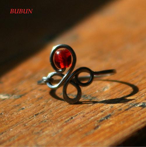 prsten - čtyřlístek
