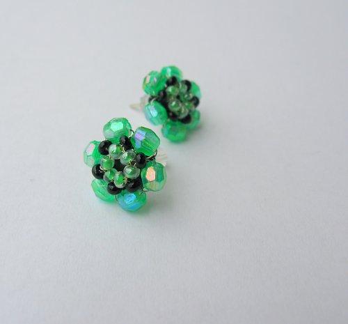 Náušničky zelené