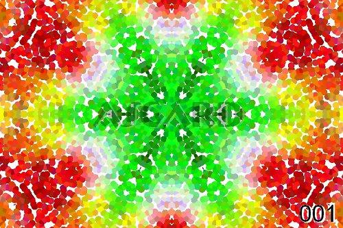 Mandala Tečkované Mozaiky