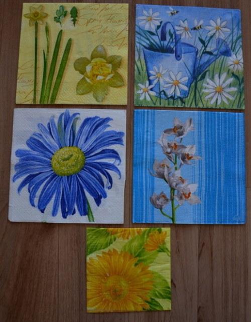 Ubrousky - květiny 5
