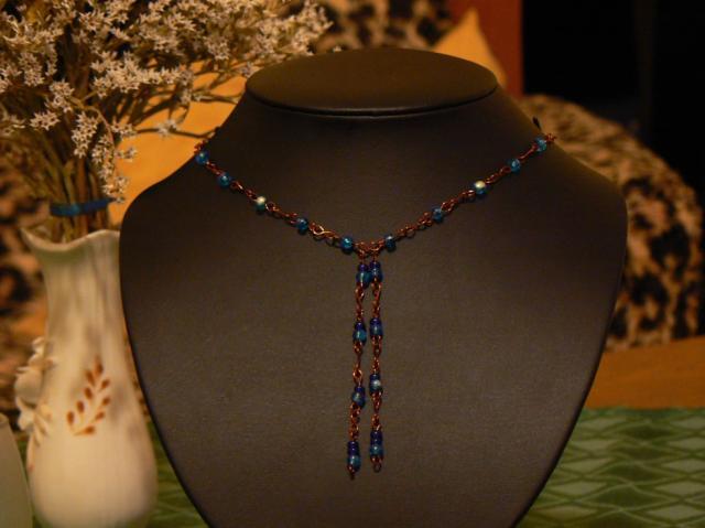 Ketlovaný náhrdelník